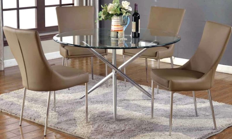 Glass Dining Room Sets For 4 Off 50, Glass Dining Room Sets